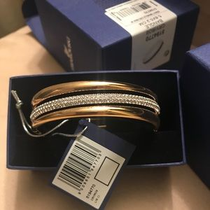 Swarovski bracelets bangle set